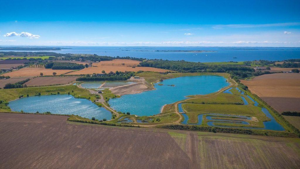 Billede taget af dronefyn for Bluerock put n take
