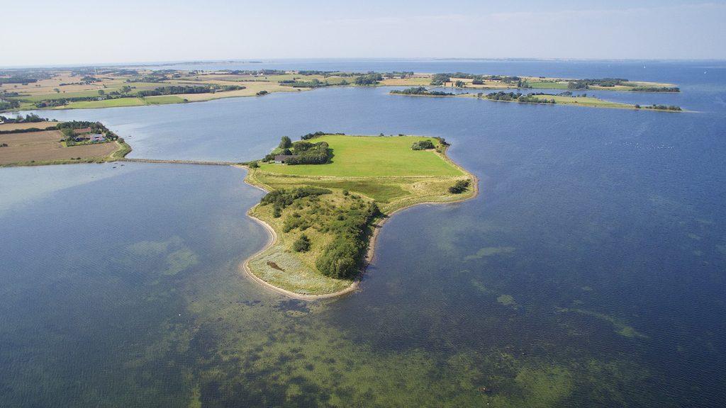 Billede taget af dronefyn for kunde af Lindø