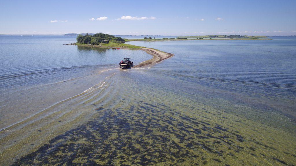 Foto taget af Dronefyn for kunde ved Svelmø
