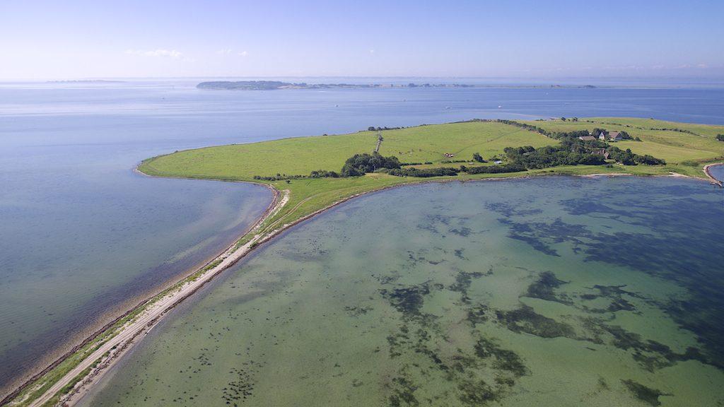 Billede taget af Dronefyn for kunde på Svelmø